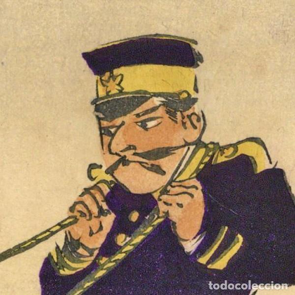 Arte: Ukiyoe, Kubihiki, Humor gráfico en la guerra chino-japonesa, Kobayashi Kiyochika (1847-1915). - Foto 7 - 278546968
