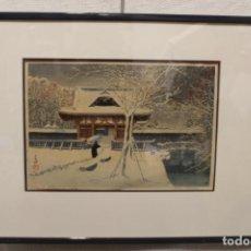 Arte: HASUI KAWASE WATANABE, XILOGRAFÍA, 1931. Lote 285240228