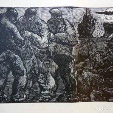 Arte: HOMBRES DE LA MAR. RAMON POLIT 1966. Lote 285274978