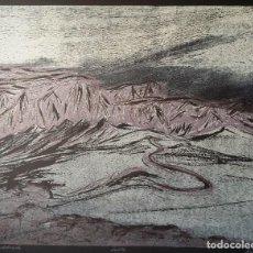 Arte: KLAUS HERZER, XILOGRAFÍA DE 1985, FIRMADA, JUSTIFICADA, PERFECTA. Lote 288375733