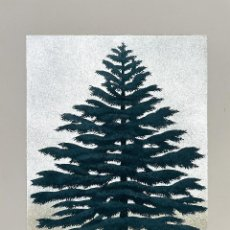 Arte: HAJIME NAMIKI - TREE SCENE 139 - XILOGRAFÍA AÑO 2009. Lote 293342553