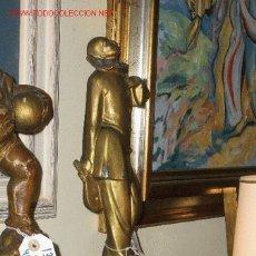 Arte: ESCULTURA VINTAGE PAYASO ART DECO ALT 43 CMS. Lote 24294909