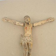 Arte: CRISTO TALLA DEL SIGLO XVIII. Lote 10422258