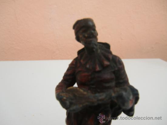 Arte: Figura antigua de metal - Foto 2 - 31327493