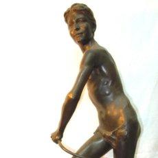 Arte: BRONCE FRANCES DE EUGENE-PAUL BÉNET. Lote 31952282