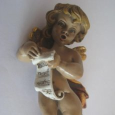 Arte: ANGEL CANTANDO MARMOLINA 12 CM.. Lote 33966923