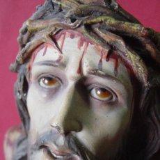 Arte: SANTO CRISTO DE LIMPIAS FIGURA DE OLOT. Lote 35940858
