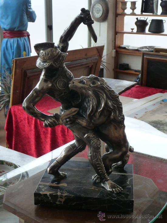 Arte: Gran escultura recubierta de estaño, años 40 - Foto 2 - 37243336