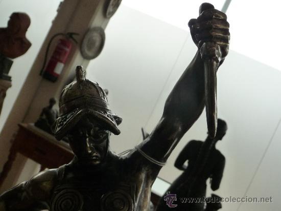 Arte: Gran escultura recubierta de estaño, años 40 - Foto 4 - 37243336