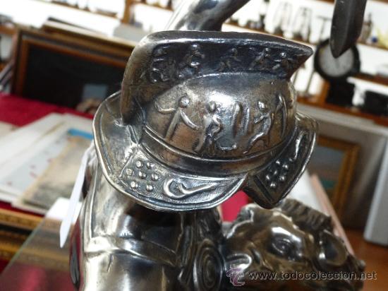 Arte: Gran escultura recubierta de estaño, años 40 - Foto 7 - 37243336