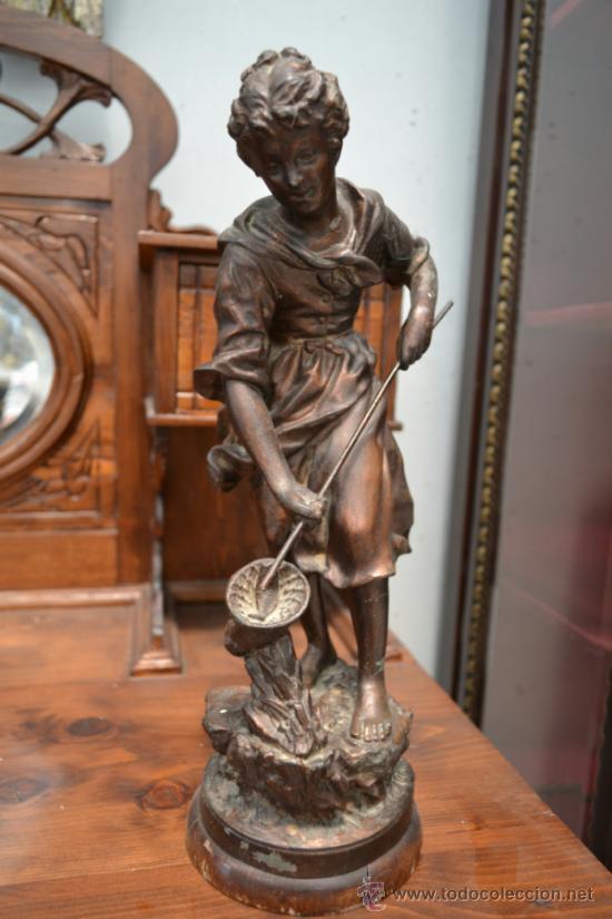 Escultura Decorativa Francesa S Xix Comprar En Todocoleccion - Escultura-decorativa