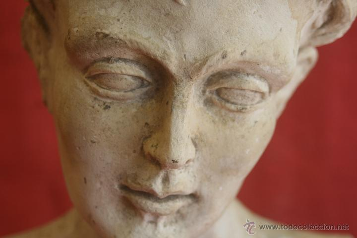 BUSTO DE ESCAYOLA (MOLDE) (Arte - Escultura - Otros Materiales)