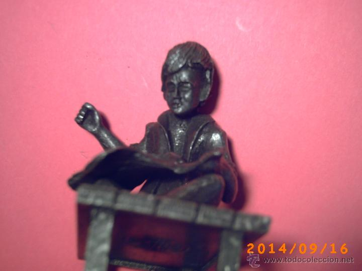 Arte: PEQUEÑA Y GRACIOSA FIGURA DE SATRE-EN ESTAÑO- SELLO CON PEWTER DALDEEROP ROYAL HOLLAND - - Foto 3 - 45263914