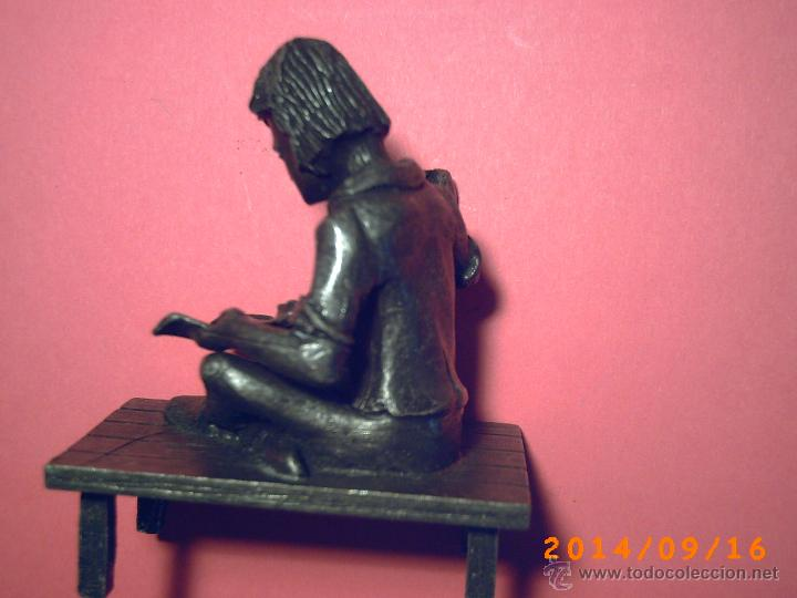 Arte: PEQUEÑA Y GRACIOSA FIGURA DE SATRE-EN ESTAÑO- SELLO CON PEWTER DALDEEROP ROYAL HOLLAND - - Foto 4 - 45263914