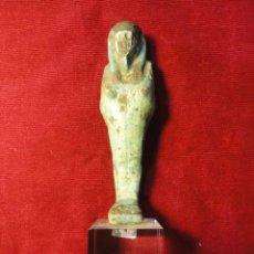 Arte: ESTATUILLA EGIPCIA CON CERTIFICADO. Lote 46415541