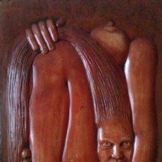 Arte: OBRA DEL ESCULTOR -- XICU CABANYES ´´93 -- FRANCESC CABANYES I COLLELL. Lote 38334772