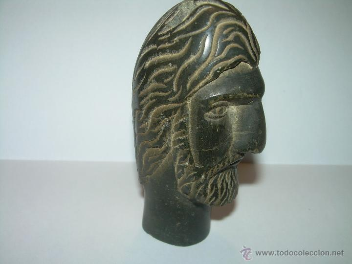 ANTIQUISIMA ESCULTURA TALLADA EN PIEDRA DURA. (Arte - Escultura - Otros Materiales)