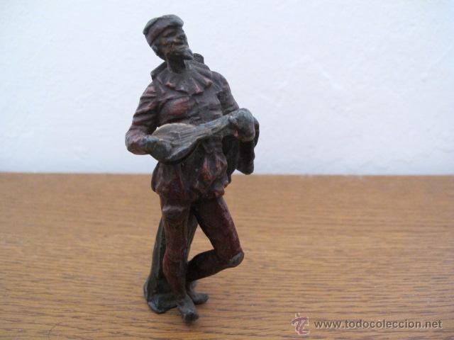Arte: Figura antigua de metal - Foto 5 - 31327493