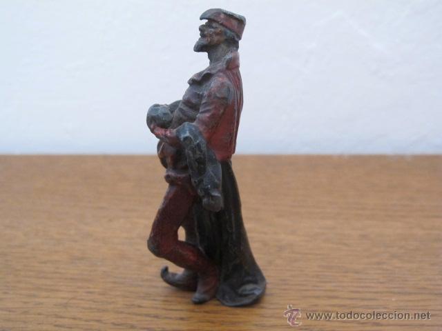 Arte: Figura antigua de metal - Foto 10 - 31327493