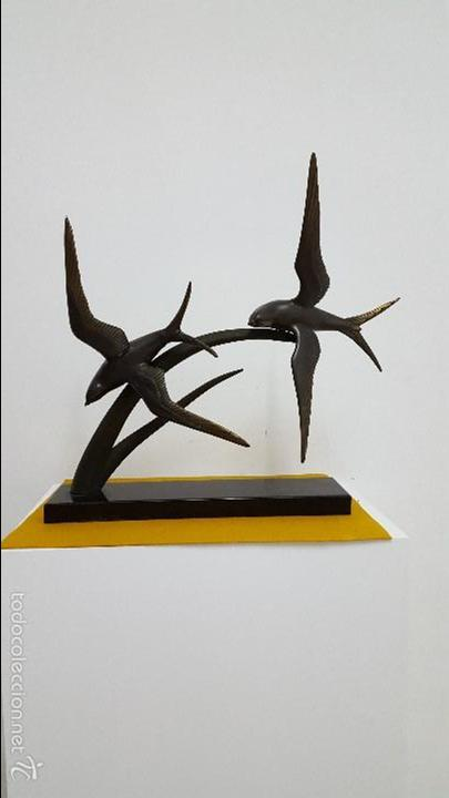 ESCULTURA ART DECO. (Arte - Escultura - Otros Materiales)