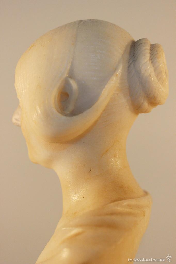 Arte: Busto de cabinet de mármol. Giovanni Insom.ca.1840 - Foto 6 - 57684279