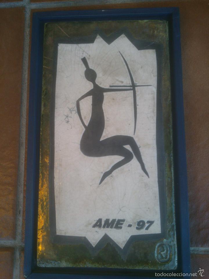 ORIGINAL CERAMICA AME 97 (Arte - Escultura - Otros Materiales)