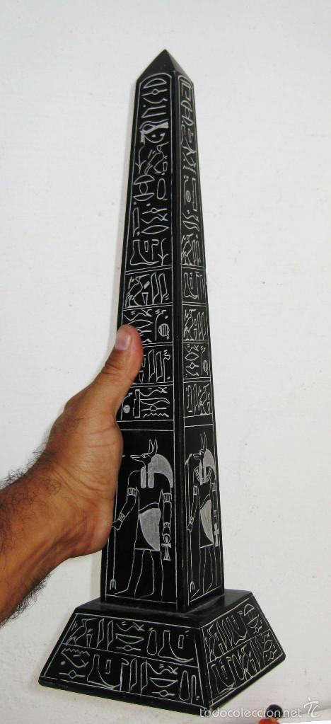 Precioso gran monolito vintage egipcio ideal d comprar - Comprar decoracion vintage ...