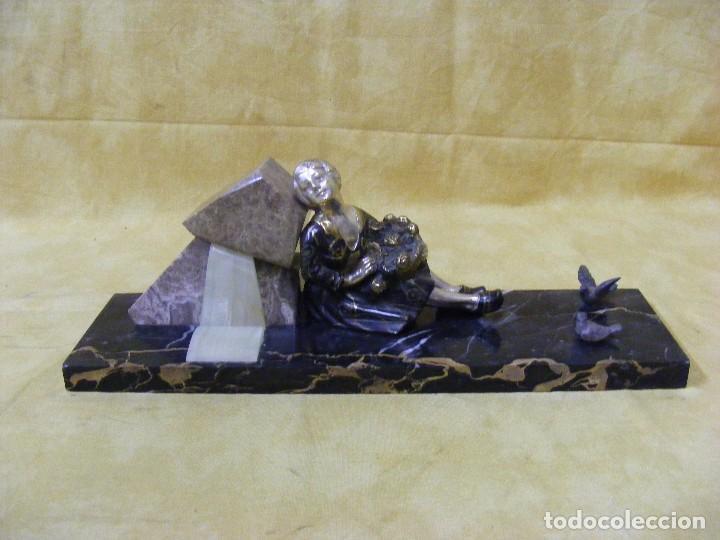 ESCULTURA ART DECO (Arte - Escultura - Otros Materiales)