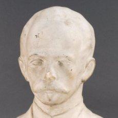 Arte: BUSTO JOSÉ MARTÍ (1853 - 1895) CEMENTO BLANCO S XX PENSADOR POETA POLÍTICO CUBA. Lote 69608197
