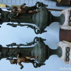Arte: BONITA PAREJA DE GUARDICIONES ECHAS EN COLOMINA . Lote 74339591