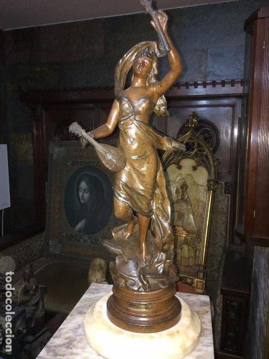 ESCULTURA DE CALAMINA (65 CM) (Arte - Escultura - Otros Materiales)