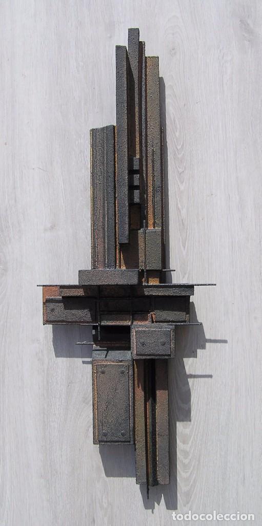 ORIGINAL ESCULTURA ABSTRACTA DE JOSE SANZ SALA. ( SOLO RECOGIDA ) (Arte - Escultura - Otros Materiales)