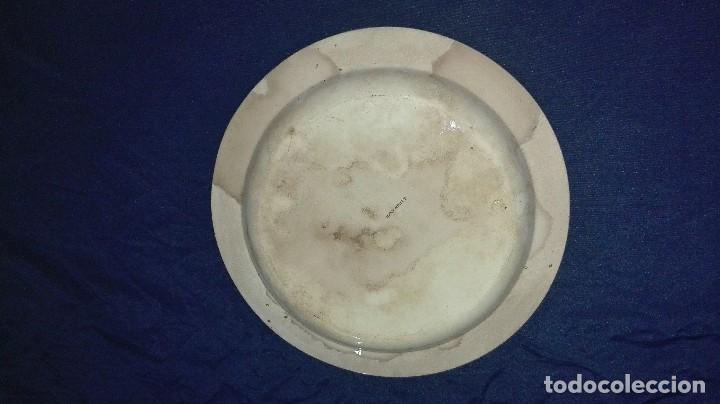 Arte: plato de loza inglesa - Foto 2 - 78375801