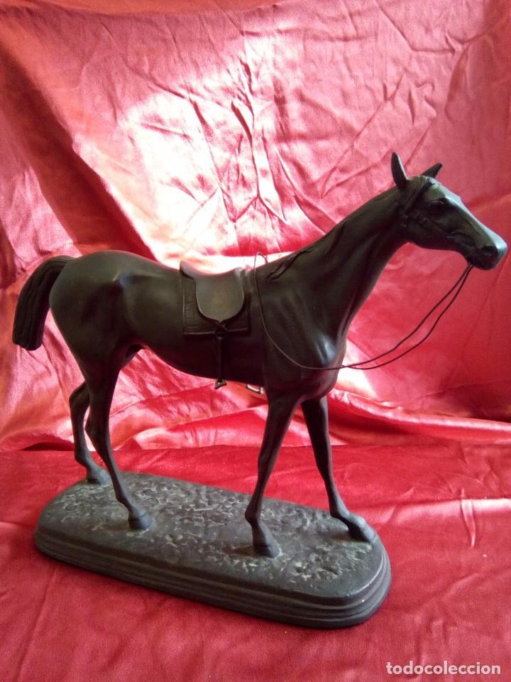 Arte: Figura de caballo en metal. - Foto 2 - 84734872