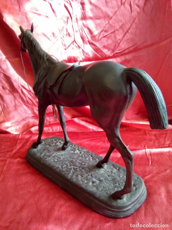 Arte: Figura de caballo en metal. - Foto 5 - 84734872