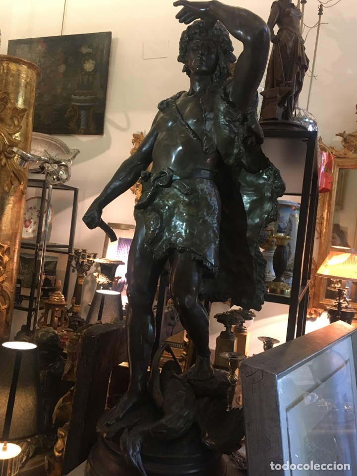 CALAMINA FINALES S. XIX (Arte - Escultura - Otros Materiales)