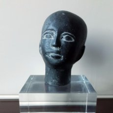Arte: PEQUEÑA CABEZA DE NIÑO EGIPCIO.. Lote 102976507