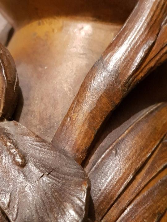 Arte: Jarrón florero modernista-art nouveau. Firmado Elsie Ward Hering - Foto 8 - 15380350
