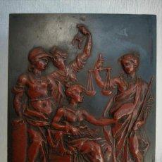 Arte: TRABAJO ITALIANO SIGLO XVII-XVIII. RELIEVE DE CERA SOBRE PIZARRA.. Lote 106459607