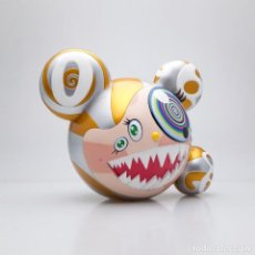 Arte: TAKASHI MURAKAMI MR. DOB FIGURE (GOLD LIMITED EDITION) BY BAIT X SWITCH COLLECTIBLES - 2016. Lote 109489907
