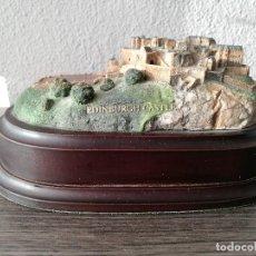 Arte: ESCULTURA BALLANTYNES OF WALKERBURN EDINBURGH CASTLE HECHO A MANO. Lote 110227807