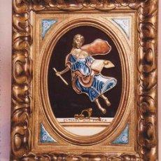 Arte: MUSA DE LA MÚSICA (ORFEBRERIA Y CRISTAL). Lote 110241139