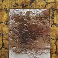 Arte: SANTIAGO HERMES. BAJO RELIEVE. FIRMA MANUAL. 1991. Lote 110263363