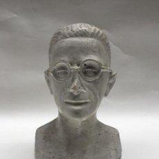 Arte: PEQUEÑO BUSTO DE ESCAYOLA , 1960. Lote 113178899