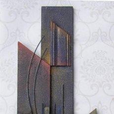 Arte: ESCULTURA ABSTRACTA RECIENTE DE JOSE SANZ SALA ( SOLO RECOGIDA ). Lote 115497495