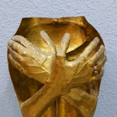 Arte: PACO JURADO (MÁLAGA 1944), PRECIOSA ESCULTURA (RARA) FIRMADA.. Lote 117619808