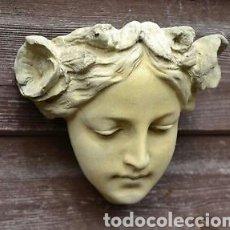 Arte: BELLÍSIMA PLACA DE JARDIN ART NOVEAU PARA TU HOGAR O JARDIN.EXCLUSIVO EN TC.SON UNA BELLEZA!!! 13CM. Lote 118599139