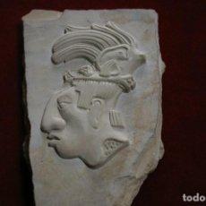 Arte: ESCULTURA EN PIEDRA MAYA O AZTECA. Lote 119714503