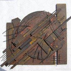 Arte: ESCULTURA ABSTRACTA RECIENTE DE JOSE SANZ SALA ( SOLO RECOGIDA ). Lote 122022779