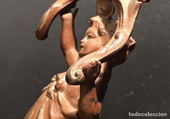 Arte: Escultura Modernista en Calamina. Años 20 (o quizá antes) - Foto 8 - 130470968